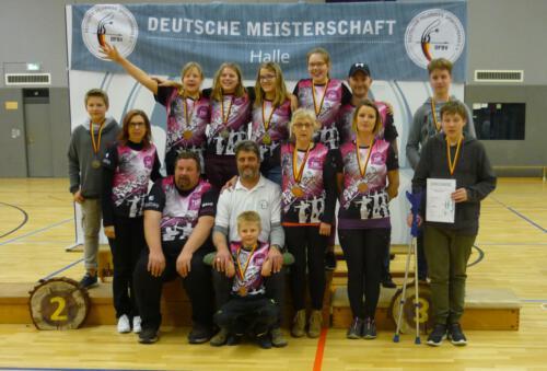 Gruppenbild DM Halle 2019